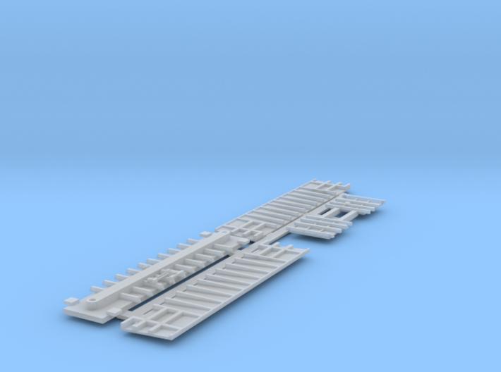 Z scale 'Steel' coal gondola kit 3d printed