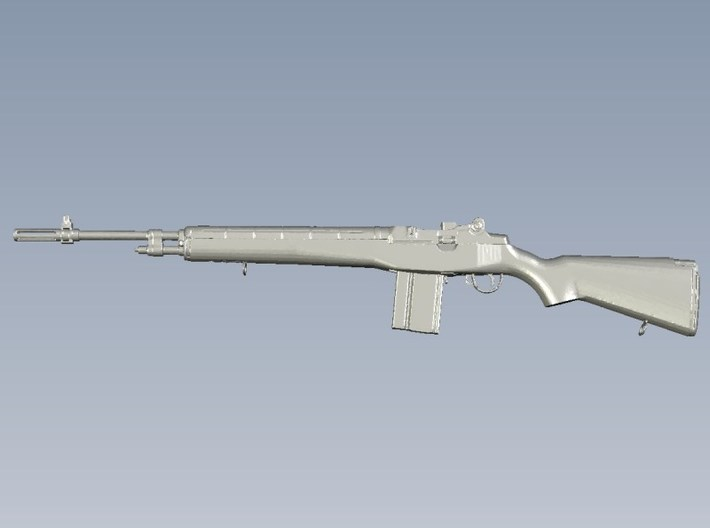 1/24 scale Springfield Armory M-14 rifle x 1 3d printed