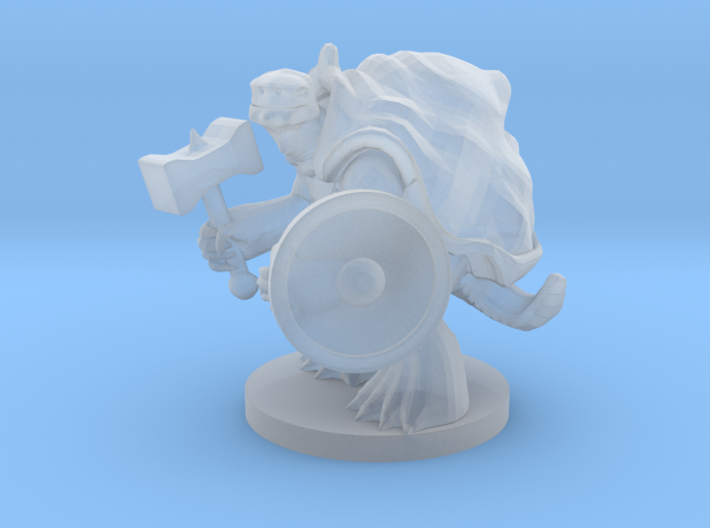 Turtlefolk Paladin 3d printed