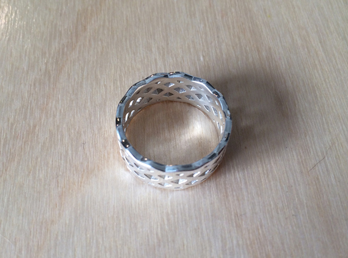 BlakOpal Celtic Weave Band 3d printed