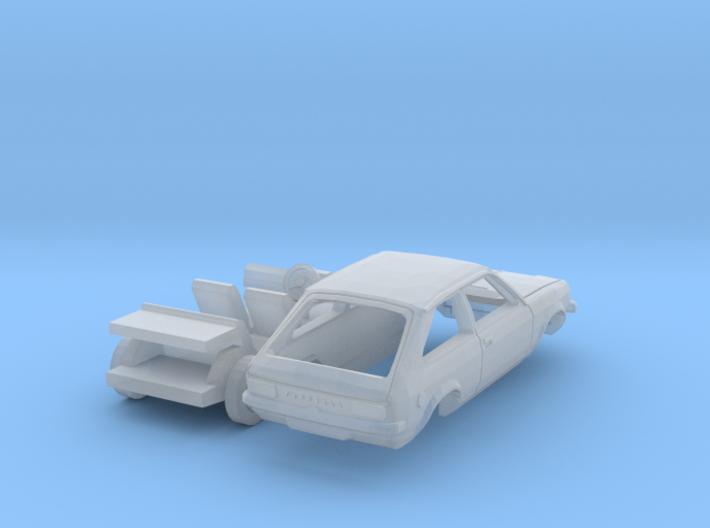 Vauxhall Chevette hatchback (N 1:160) 3d printed