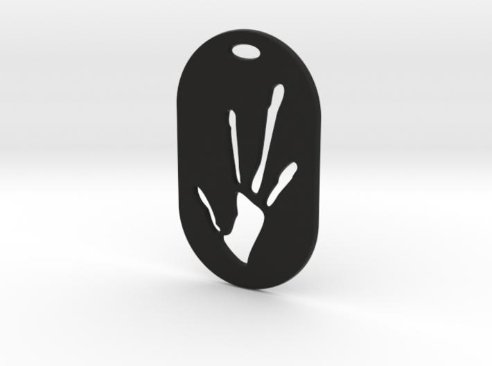 Alien Hand Print 3d printed