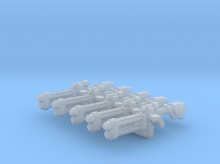Beach trooper Blaster 3d printed