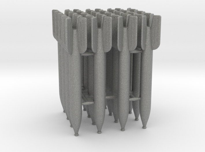 16 M-13 rockets scale 1:16 3d printed