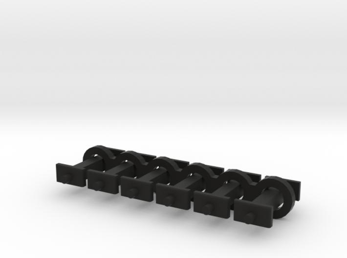 N Scale 8mm Fixed Coupling Drawbar x6 3d printed
