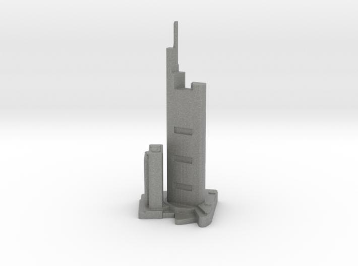 Commerzbank Tower - Frankfurt (1:4000) 3d printed
