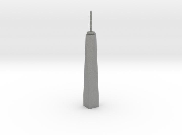 One World Trade Center - New York (1:4000) 3d printed