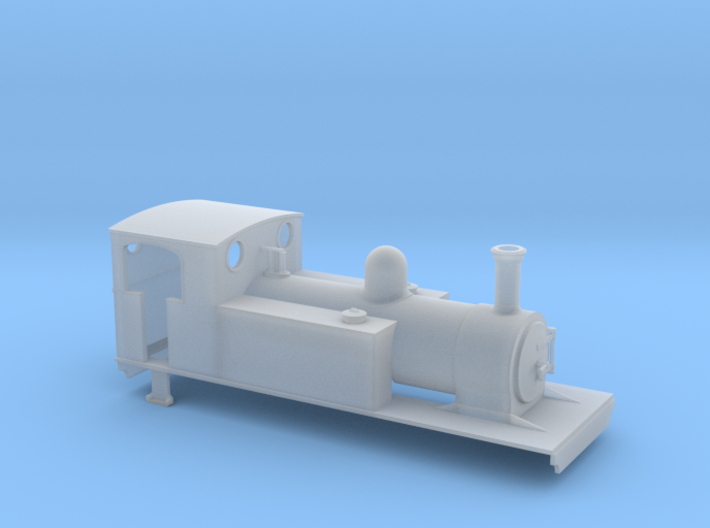 OO gauge Freelance 4-6-0T type 2 3d printed