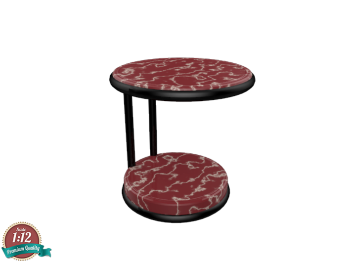 Miniature Rugiano Oblo Side Table - Rugiano 3d printed Miniature Rugiano Oblo Side Table - Rugiano