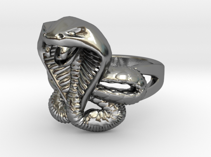 cobra commander ring 3d printed
