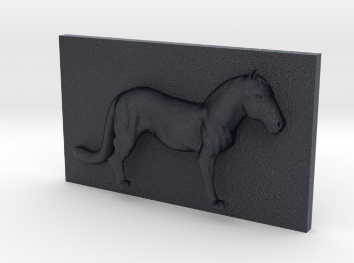 HorseLeopard Caricature (001) 3d printed