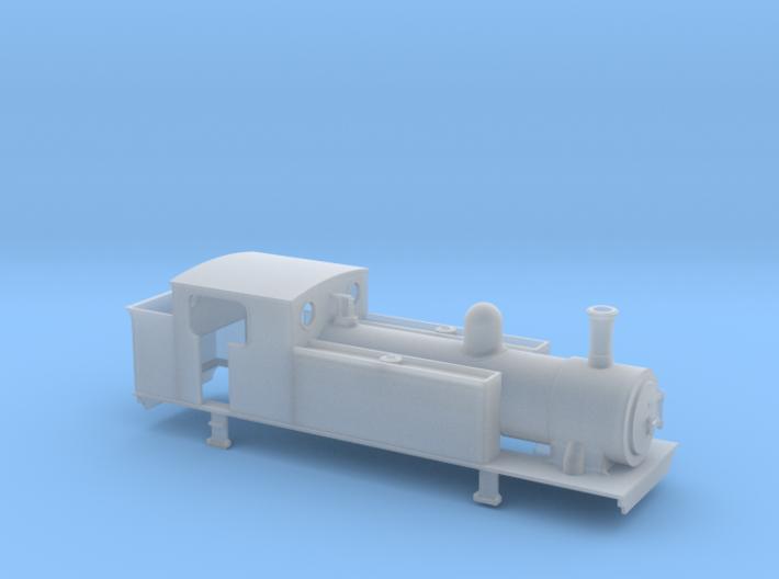 OO gauge Freelance large 2-4-2T or 0-6-2T 3d printed