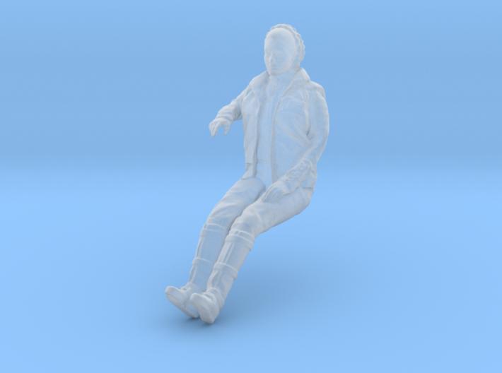 1/43 scale figure for DeAgostini Millennium Falcon 3d printed