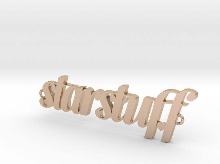 Starstuff pendant 3d printed