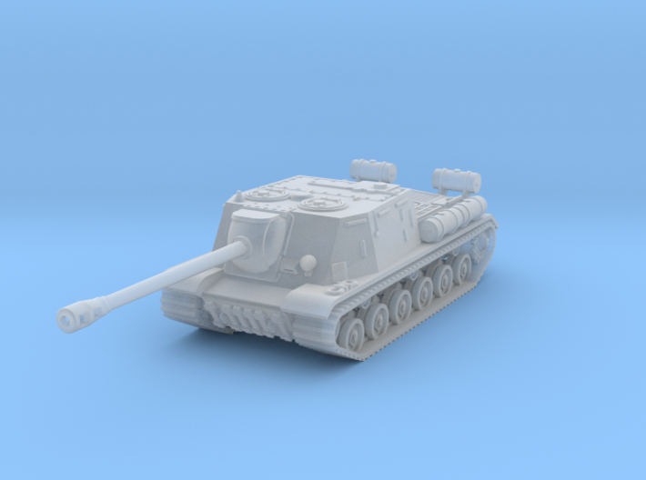 SU-122 scale: 1:200 3d printed