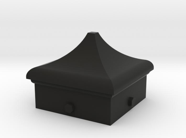Signal Semaphore Finial (Square Cap) 1:19 scale 3d printed