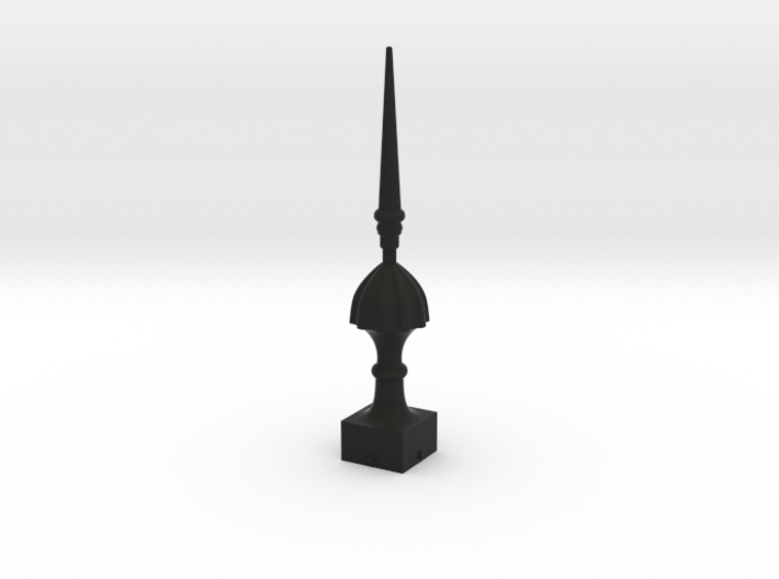 Signal Semaphore Finial (Victorian Spike)1:19scale 3d printed