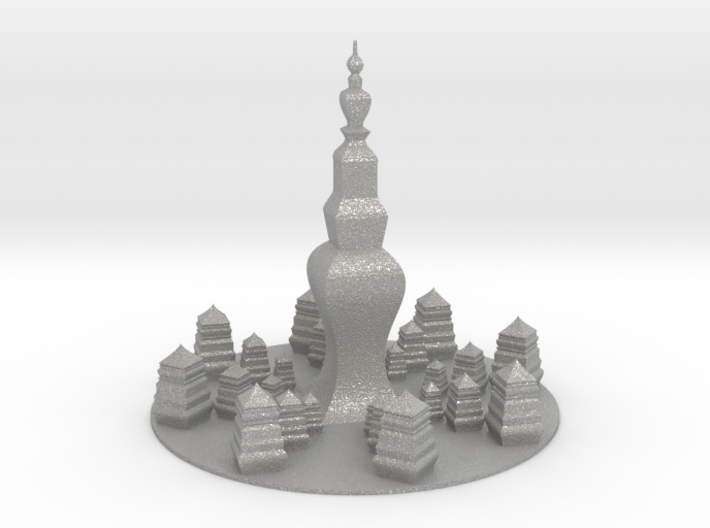 Pagoda 3d printed