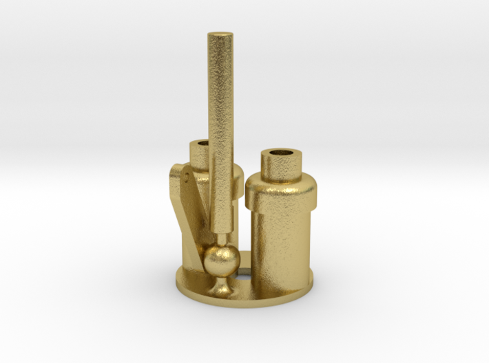 WD Hunslet Safety Valve Whistle Assembly (Meshed) 3d printed