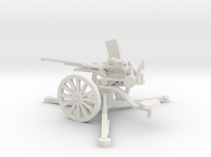 1/48 IJA Type 98 20mm anti-aircraft gun 3d printed