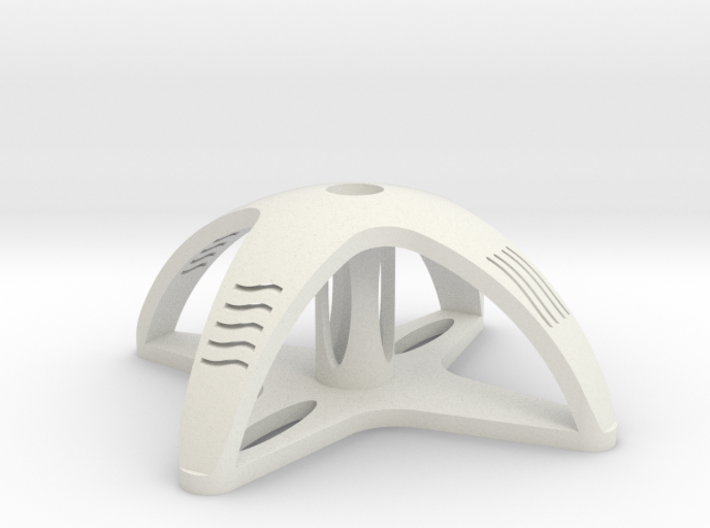 Fifth Element tomb key stand 3d printed