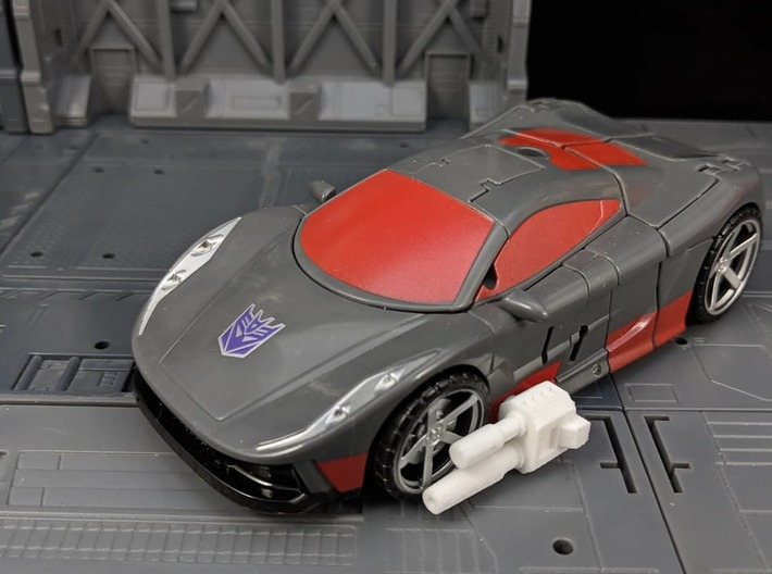 TF Weapon Gun Cannon Smoke Stack Add On 3d printed Used as car Cannons