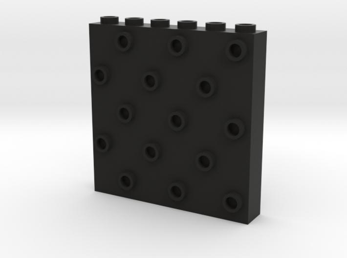 1x5x6 Instant Brick Wall 3d printed