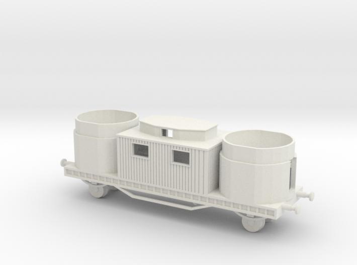 1/144 Betonflak Reichsbahn Flak waggon 3d printed