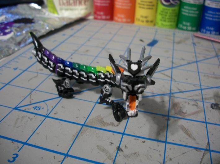 Wu Long Dragon 3d printed