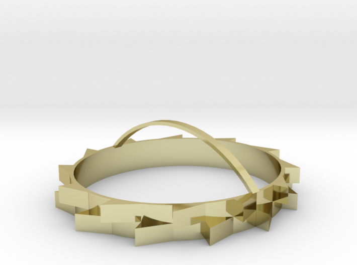 Corona (Crown of Thorns) 3d printed