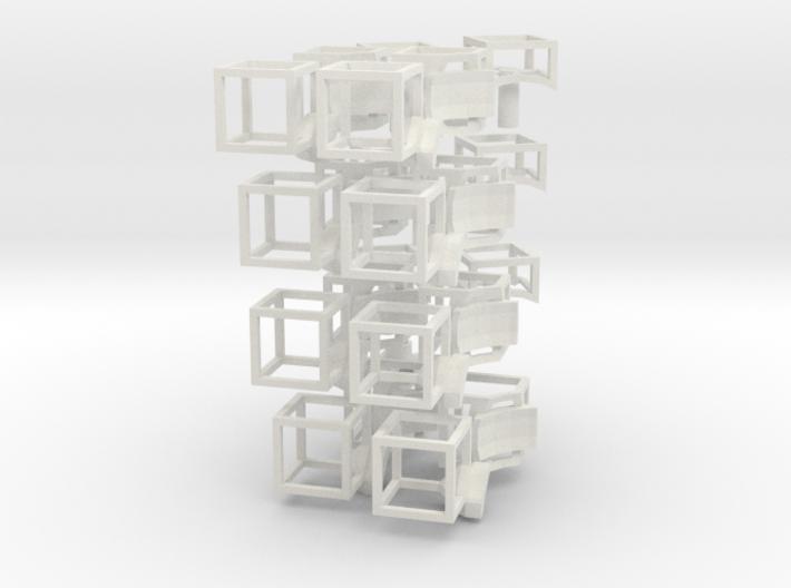 void magic cube6_full kit.33 3d printed