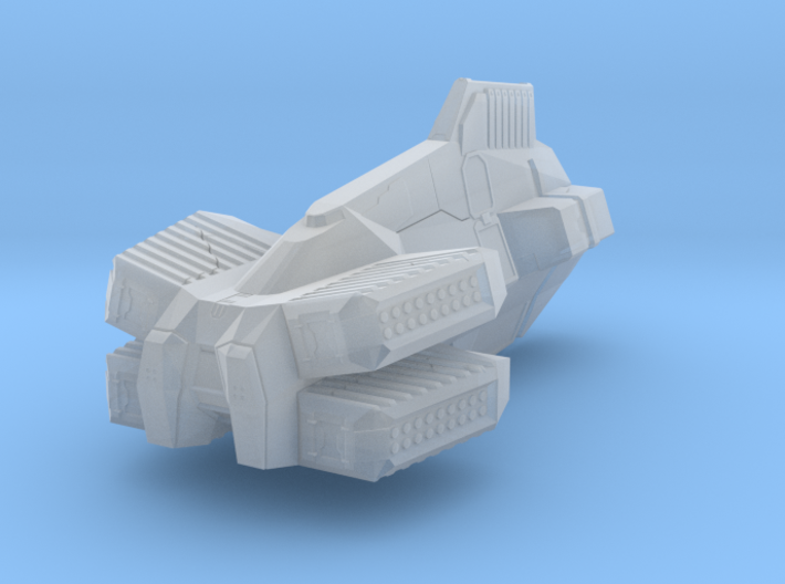 """Taiidan """"Skaal-Fa"""" Missile Destroyer 3d printed"""