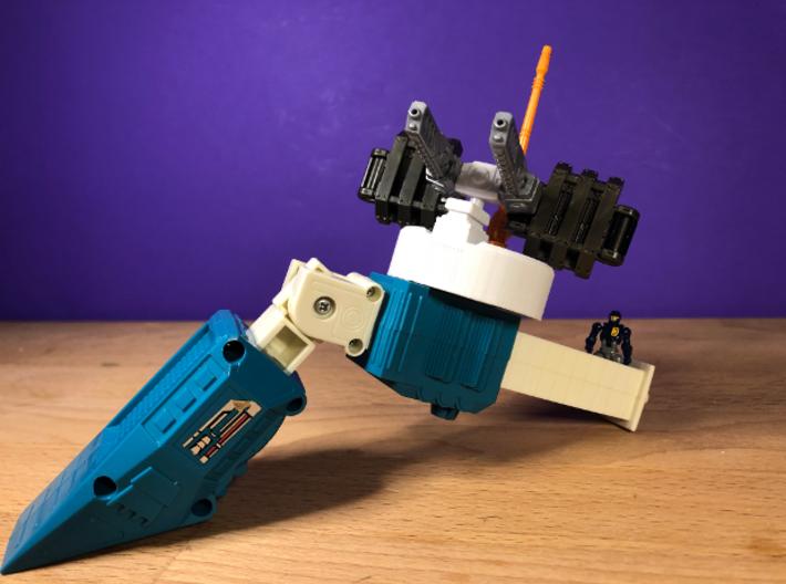 Big Powered Ultra Magnus Arm Mod - Advanced 3d printed