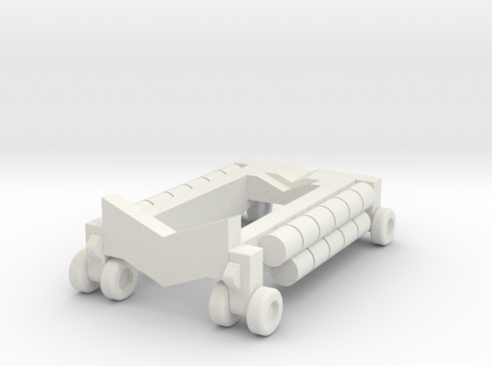 B 314 Beaching Trolley 1:220 3d printed