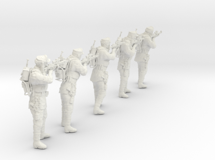 1/20 Antarctic Troops Set101-01 3d printed