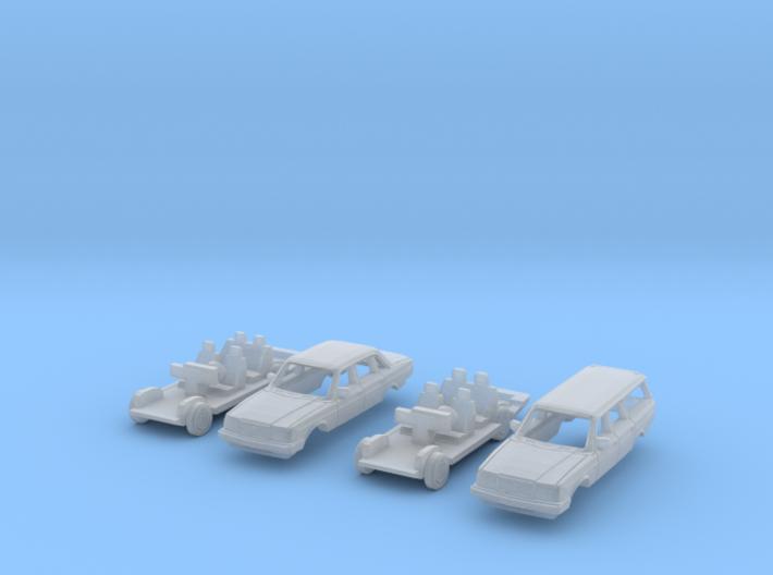 SET 2x Volvo 240 (N 1:160) 3d printed