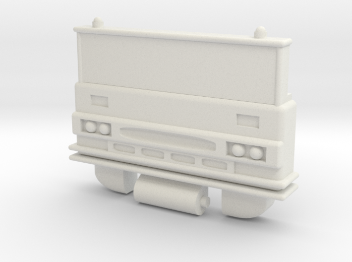 G1 Inferno/Grapple Chest for POTP Inferno 3d printed