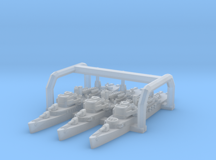 Barnegat AVP '42-'43 x3 (FUD) 3d printed