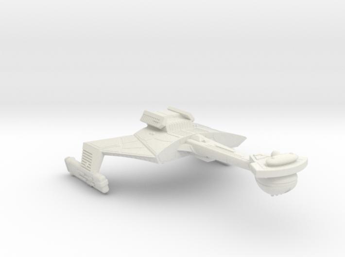 3788 Scale Klingon C7K Heavy Battlecruiser WEM 3d printed