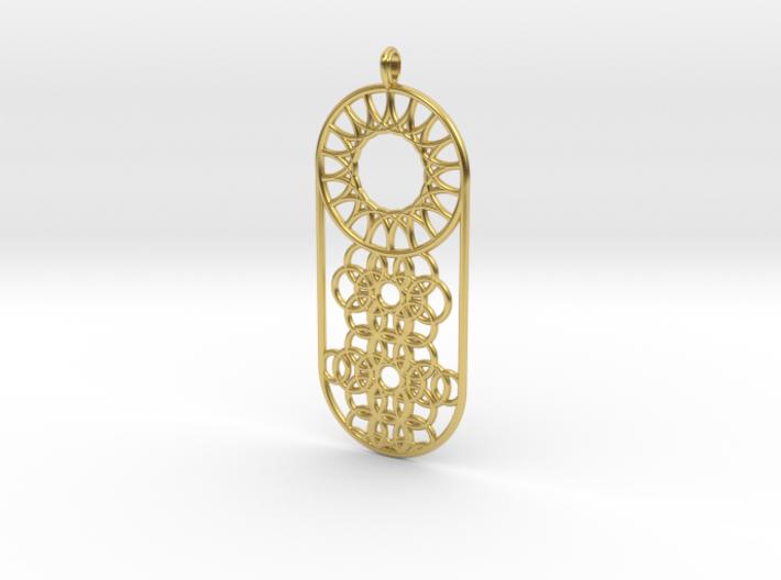 Makrys Circles 3d printed