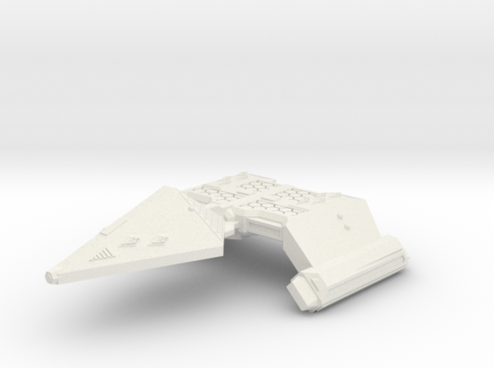 3125 Scale Neo-Tholian Strike Carrier (NCV) SRZ 3d printed