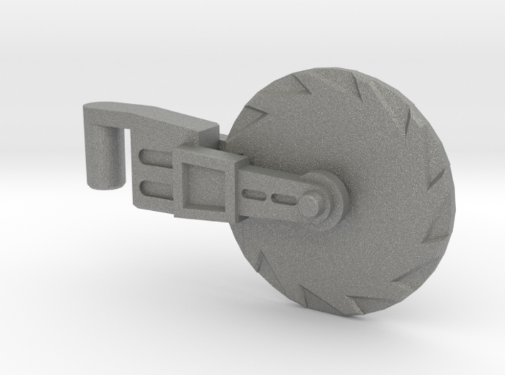 Hot Rod Spinning Hand-Saw 5mm (PotP) 3d printed