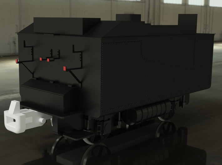 Tender JZ 83 3d printed