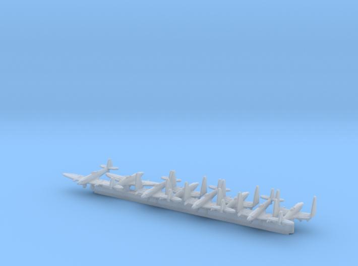 Seafire FR47 w/Gear x8 (FUD) 3d printed