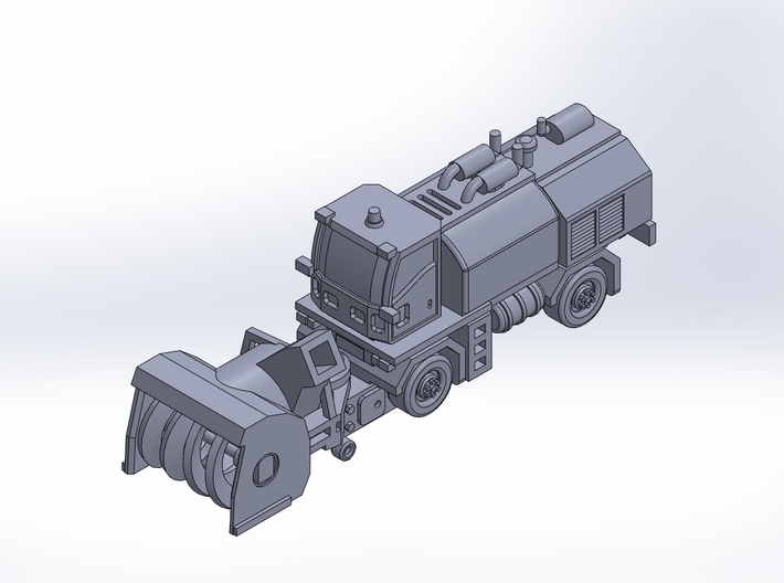 MB4 snow blower rev2 3d printed
