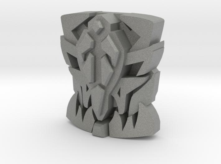 "Onyx Prime ""Beast Face"" Matrix Plate 3d printed"