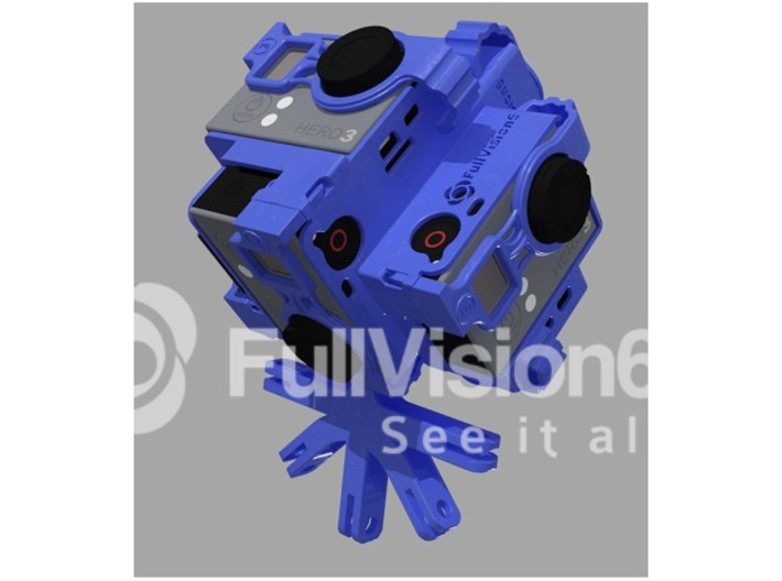 FULLVISION6: Spherical Panorama 360 Video GoPro Mo 3d printed Spherical Panorama GoPro Mount Tiny Planet Accessories Cases 360 3d 360 3d video 360* 360 panoramic 360hero 360heros 360x180 6 gopro 6 gopros camera CAMS approved capture life drone flying gear gopro gopro 3 gopro black edition gopro holder gopro mount go
