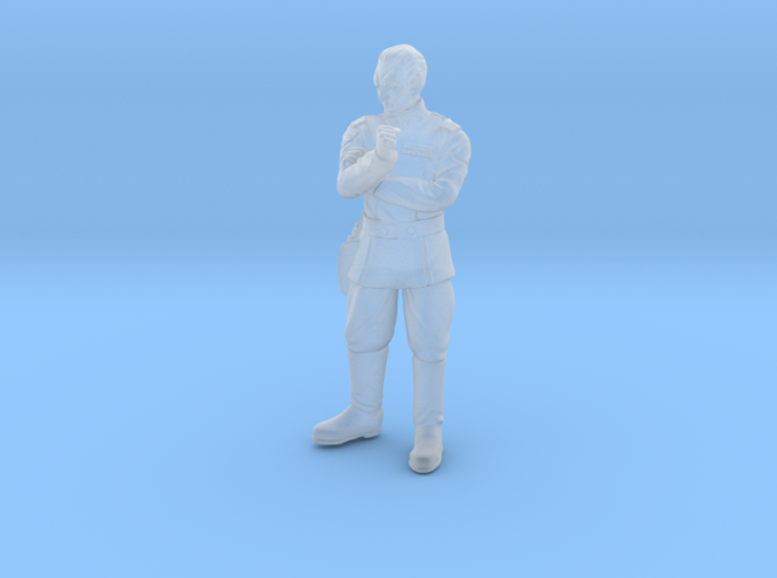 The Cunning Admiral 3d printed