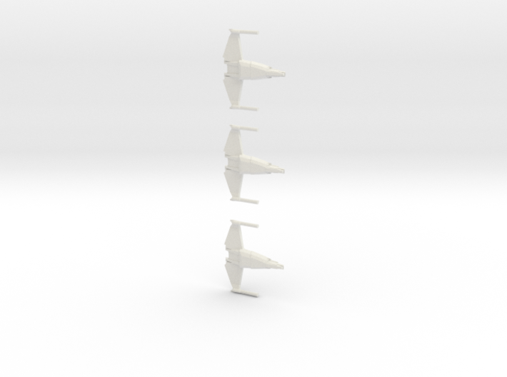 Aggresive Fighter Mrk 2 (WSF) 3-pack 3d printed
