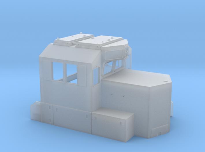 N Scale ADMIRAL CAB PTC 3d printed
